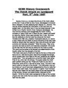 why did the spanish armada fail in a level english the dutch attack on landguard fort 2nd 1667