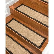 natural area rugs sisal carpet stair treads set of 9 pure nature
