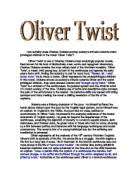 oliver twist gcse english marked by teachers com how suitably does charles dickens portray society s attitude towards under privileged children in the