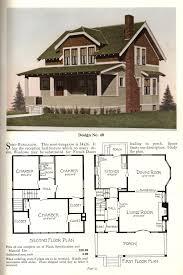 trendy semi bungalow house plans 1