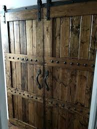 rustic barn doors for decoratis door pulls interior