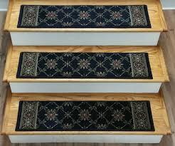 carpet stair treads. 181484 - european 2.7 x 8 inches polypropylene stair treads navy carpet a