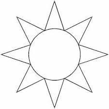 Sun Template Printable Pin On Templates