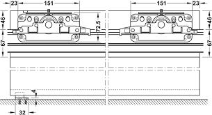 Schuifdeurbeslag Slido Design 40 V 80 V Garnituur In De H Fele Kies Als Gestaltungselement