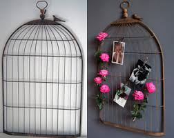 Birdcage Memo Board Iron Bird Cage Memo Board 1