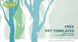 Winter Powerpoint Forest Winter Powerpoint Template Free Professional Powerpoint
