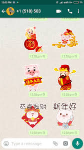 2019 Chinese New Year CNY Stickers For WhatsApp Apk Download | New Apk