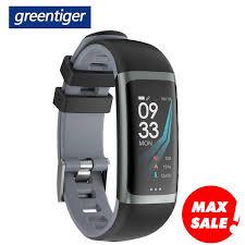 Greentiger G26 <b>Smart Bracelet</b> P67 Waterproof Heart Rate <b>Blood</b> ...