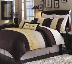 33 cool inspiration brown and yellow comforter stripes bedding set with rustic cherry originalviews 534 viewss 315 sets