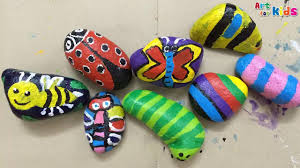 rock painting for kids stone painting for kids how to paint stone art for kids