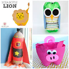 Bottle Decoration Ideas Kids Here are a bunch of creative soda bottle crafts for kids to make 2
