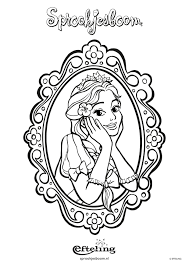 4 Disney Prinses Kleurplaten 48693 Kayra Examples With Regard To