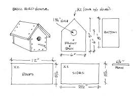 Birdhouse Patterns Extraordinary 48 Free Birdhouse Plans Guide Patterns