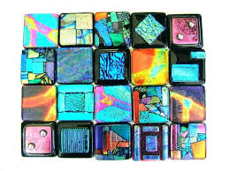 4x4 glass tile custom by fusions clear craft