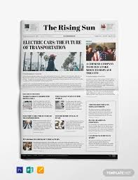 Fake Newspaper Template Word 18 News Paper Templates Word Pdf Psd Ppt Free