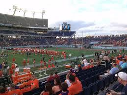 Florida Citrus Bowl Seating Chart Camping World Stadium Section 108 Rateyourseats Com