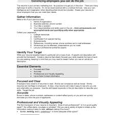 Brilliant Bad Resume Examples With 100 Resume Samples Template