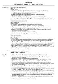 Pipeline Engineer Resume Samples | Velvet Jobs