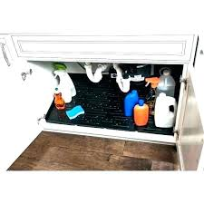 under sink cabinet mat under sink protector in cabinet tray kitchen organizer mat mats best under