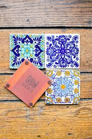 mexican wedding invitations. personalized mexican tiles make great coasters/wedding favors wedding invitations