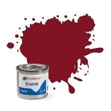 Humbrol Paint Chart Uk Humbrol 133 Brown Satin Enamel 14ml Model Kit Paint