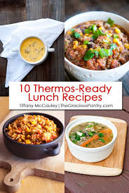 10 thermos ready lunch recipes the