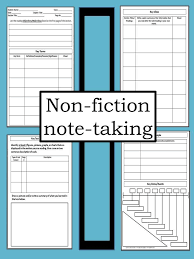 best middle school english teaching resources images on 4 page non fiction note taking template for middle and high school students
