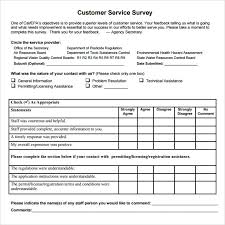 Client Satisfaction Survey Examples Pdf