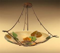 art glass lighting fixtures. chandelier ceiling mount custom art glass with metal work fixtures lighting