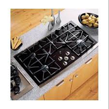 get ations ge profile jgp970s 36 gas cooktop with 5 sealed burners precise simmer burners gas