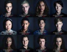 Image result for 13 reasons why cast