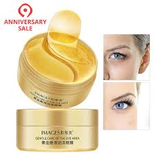 <b>60pcs Gold Eye Mask</b> Anti Wrinkle Crystal Collagen Eye Patches for ...