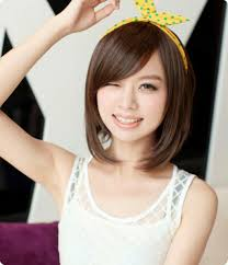 Chinese Women Hair Style hairstyle for round face asian short hairstyles for round faces 5498 by wearticles.com