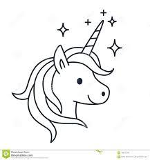 Unicorni Kawaii Da Colorare Per Download Unicorn Per Ed I With