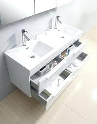 54 double vanity. Wonderful Vanity 54 Inch Bathroom Vanity Double Sink White  Midori   Throughout Double Vanity N