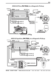 msd ignition wiring diagrams msd 10 series to magnetic pickup
