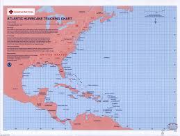 Atlantic Hurricane Tracking Chart Library Of Congress