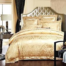 blue and beige bedding sets gold white blue jacquard silk bedding set luxury 4 satin bed
