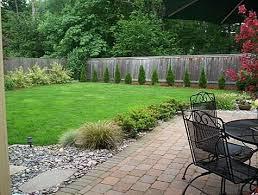 large backyard landscaping