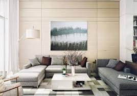 Wall Art Ideas For Living Room With Abstract Painting