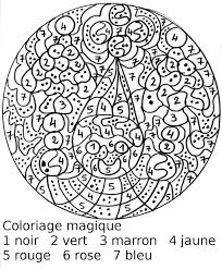 Dessin De Coloriage Magique Imprimer Cp16862