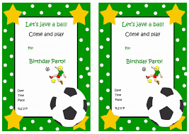 free printable invitation cards for birthday party for kids soccer free printable birthday party invitations birthday party