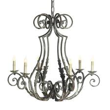 hand forged wrought iron french chandelier