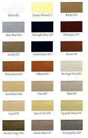 Mitten Siding Color Chart Aluminum Siding Color Vinyl Chart Mastic Colors House Fort