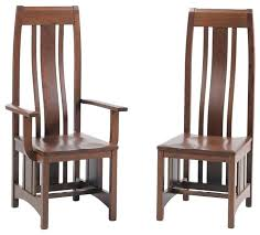 remarkable mission style dining chairs
