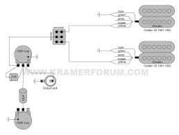 kramer wiring diagrams welcome to the kramer forum Schaller 5 Way Switch Wiring Diagram 1982 the pacer, 5 way, 1 vol, 5-Way Strat Switch Wiring Diagram