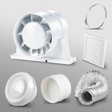 kitchen extractor fan. Inline Kitchen Extractor Fan Kit 5