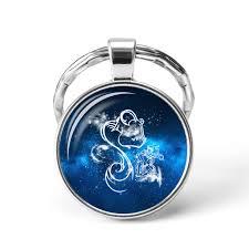 Krásný Přívěsek Na Klíče Horoskop Znamení Vodnářaquarius