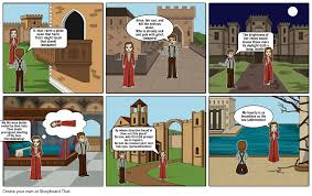 romeo and juliet storyboard by dewayneday