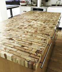 southern vintage reclaimed wood counters 0015